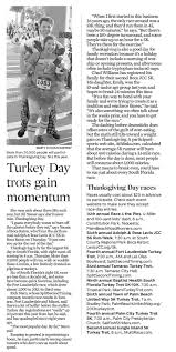 thanksgiving day race 2014 race archives running tips 101