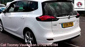 vauxhall zafira 2015 2014 vauxhall zafira tourer elite 1 4l white eo14vyk for sale at
