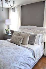a guest bedroom makeover in grays how to decorate