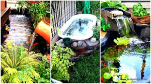 21 small garden backyard aquariums ideas that will beautify your