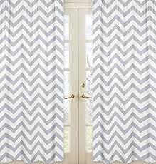 White Chevron Curtains Sweet Jojo Designs 2 Gray And White Chevron