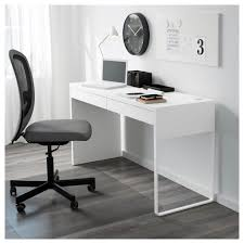 Desk Computer All In One Computer Desk Chair And Micke White