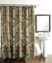 tower scenery w tree flowers waterproof fabric shower curtain w