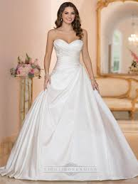 gown wedding dress sweetheart ruched bodice princess gown wedding dresses