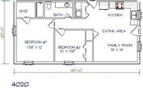 small guest house floor plans 20 x 40 house plans 14 best 20 x 40 plans images on