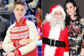 happy holidays celebs wearing ugly christmas sweaters attire