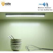 robeau de cuisine led motion sensor le feux de garde robe au lithium charge de la