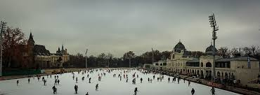 outdoor ice skating rink city park budapest my expat life