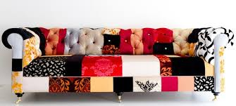 Chesterfield Sofa Patchwork Nothing Can Be Like A Patchwork Sofa Camilleinteriors Com