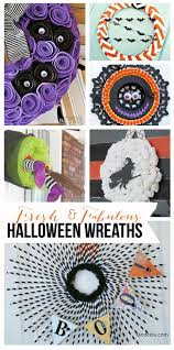fresh and fabulous halloween wreath ideas landeelu com