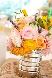 cheap flower arrangements 45 charming inexpensive country tin can wedding ideas deer