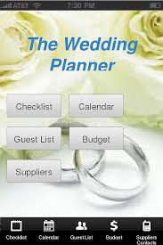 wedding planner calendar weddings app templates android iphone