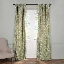 classic green semi opaque curtains u0026 drapes window
