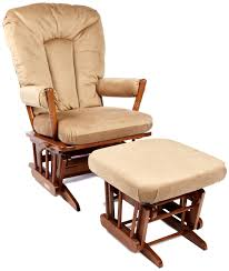 Rocking Chair With Ottoman Simple And Neat Decorating Ideas Using Rectangular Brown Rugs And