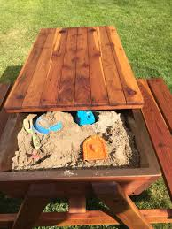 Free Large Octagon Picnic Table Plans Easy Woodworking Solutions by Picnic Table With Built In Sand Box For The Kids Sandbox Picnic