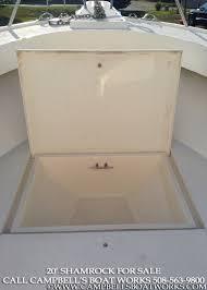 20 shamrock center console u2014 campbell u0027s boat works inc
