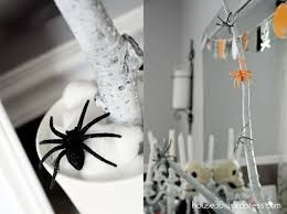 chic halloween decor on a budget