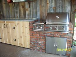 This Is A Simple Outdoor Kitchen With A Burner Blaze Grill And - Simple outdoor kitchen