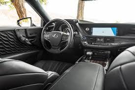 lexus cars interior 2018 lexus ls australian range details