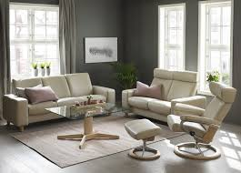 Low Back Sofa Stressless Pause 3 Seat Sofa Low Back By Ekornes