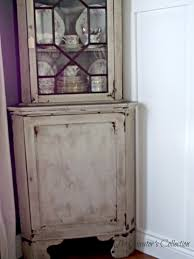 decorating using astounding corner hutch for cozy home furniture antique chippy corner hutch for awesome home furniture ideas