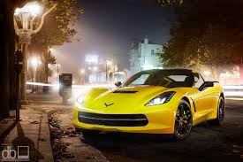 yellow corvette c7 yellow corvette c7 stingray madwhips