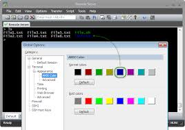 tips overview of color configuration in securecrt