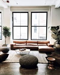 The  Best Modern Leather Sofa Ideas On Pinterest Tan Couch - Leather sofa interior design