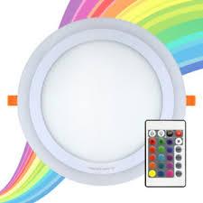 colour changing led ceiling lights rgb 16 colour changing ring led ceiling panel down light bedroom