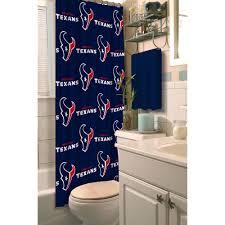 nfl houston texans decorative bath collection shower curtain