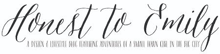 Lifestyle Blog Design Honest To Emily U2013 A Design U0026 Lifestyle Blog Featuring Adventures