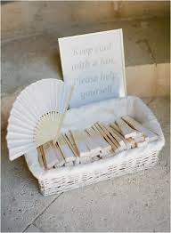 personalized fans for weddings chateau de wedding in provence