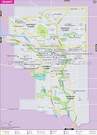 Canada City Map by Calgary Map Map Of Calgary City