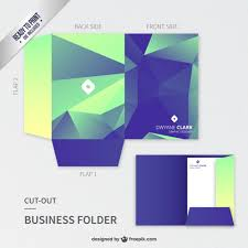 presentation folder design template pocket folder 95 x 12 template