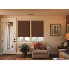 Temporary Blinds Home Depot Redi Shade Chocolate Room Darkening Paper Temporary Shade 36 In