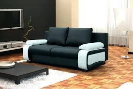 canapé lit cuir noir lit cuir blanc awesome banquette lit cuir canape cuir d angle