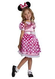 Light Up Costumes Toddler Pink Minnie Mouse Motion Activated Light Up Costume