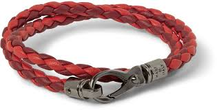 leather bracelet woven images Tod 39 s woven leather wrap bracelet where to buy how to wear jpg