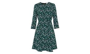 flower dress anjelica bell flower dress green multi whistles