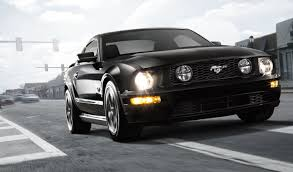 Mustang Car Black Ford Mustang Black