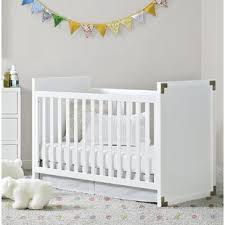 Solid Back Panel Convertible Cribs White Solid Back Crib Wayfair