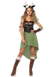 Halloween Costumes Ebay Leg Avenue 85590 Dark Forest Fawn Halloween Costume Olive Black