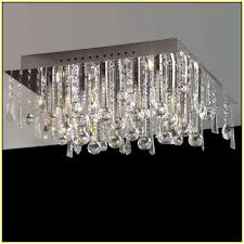 semi flush mount crystal chandelier home design ideas