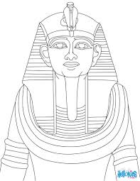 ramses ii statue for children coloring pages hellokids com