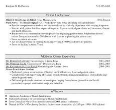 Nurse Practitioner Resume Examples by Oncology Nurse Resume Resume Samples Sample Oncology Clinical