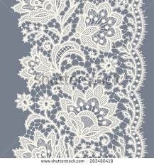 ribbon lace lace ribbon vertical seamless pattern stock vector 283480418
