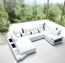 white italian leather ottoman modern italian leather sectional sofas white sofa with ottoman