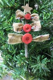 country chic ornament buttons and bows