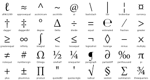 Glyph Symbol - lazy symbol glyphs glyphs