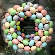 how to make easter wreaths diy craft idea playful easter wreath ideas